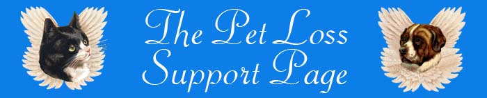 Pet Loss Support Page